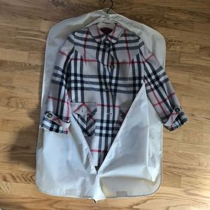 Wool Burberry Coat